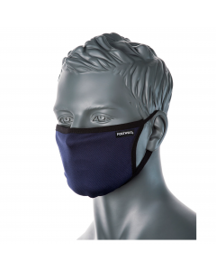 portwest adjustable face mask navy